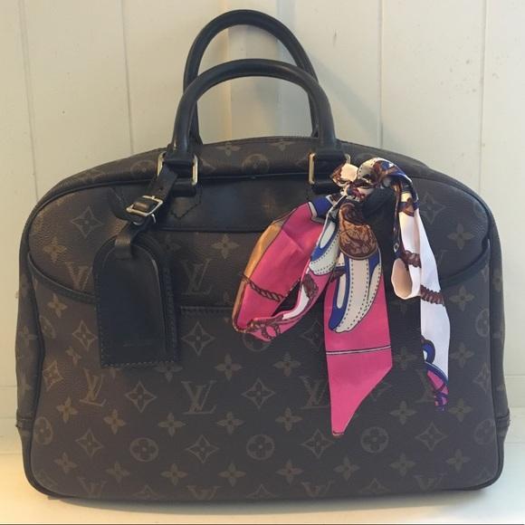 Louis Vuitton Bags Deauville Travel Bag Diaper Bag Poshmark